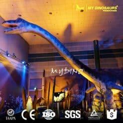 animatronic plesiosaur