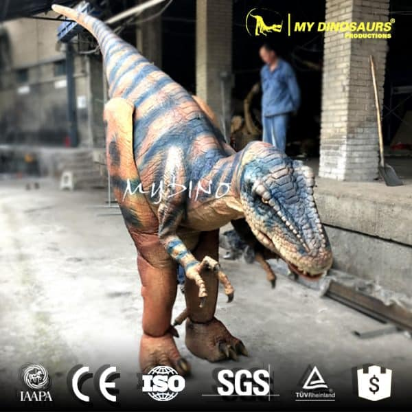 dinosaur costume hidden legs1