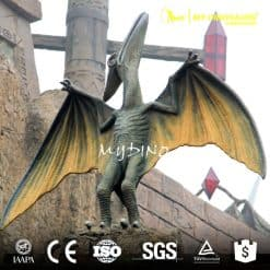 dinosaur park gate decoration 2