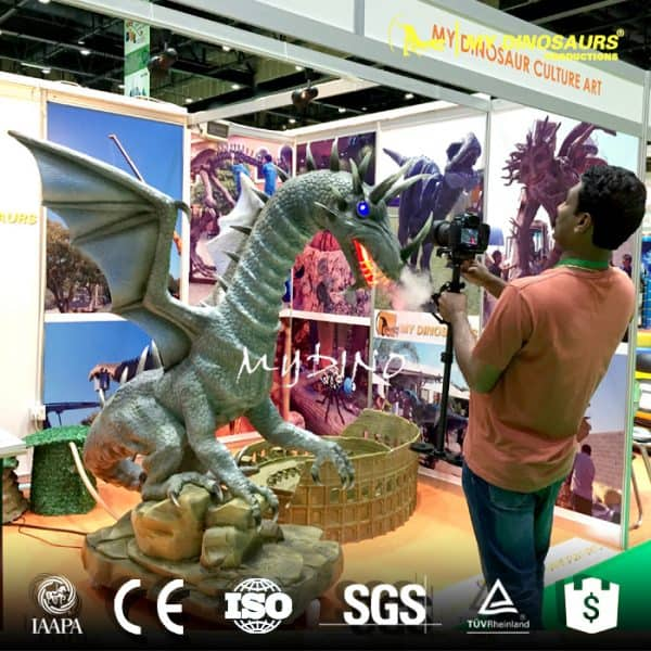 life size animatronic dragon fly