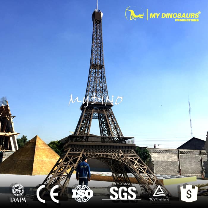 miniature building Eiffel Tower