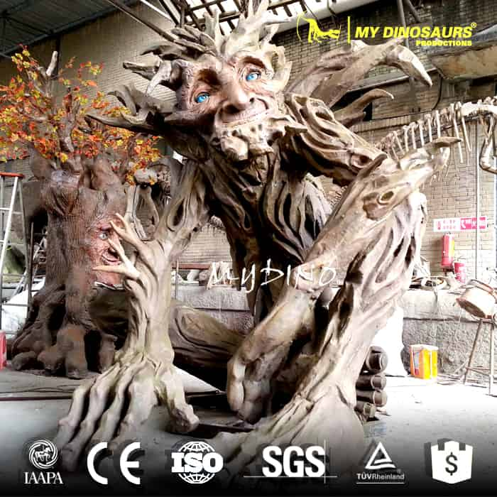 talking tree animatronics