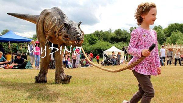 hidden legs dinosaur costume