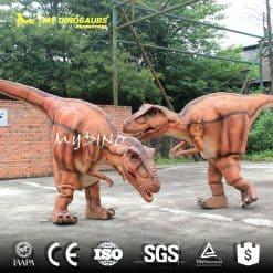 Dinosaur Costume Performance
