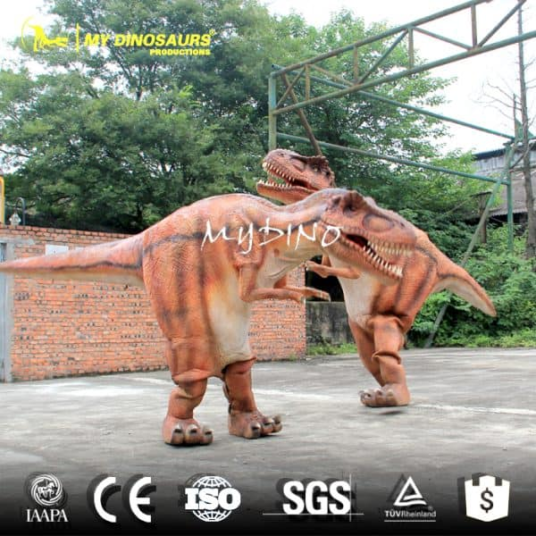 Dinosaur Costume with Sound Effect
