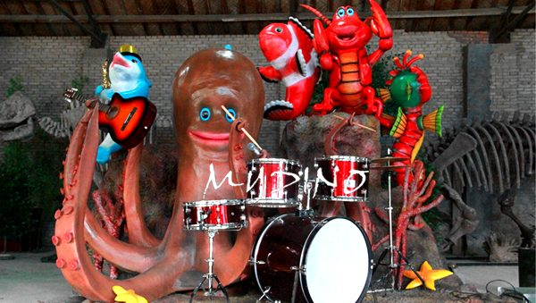 custom made animatronic music band 拷贝