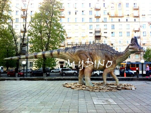 fiberglass dinosaur quare
