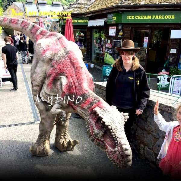 realistic walking dinosaur costume 1