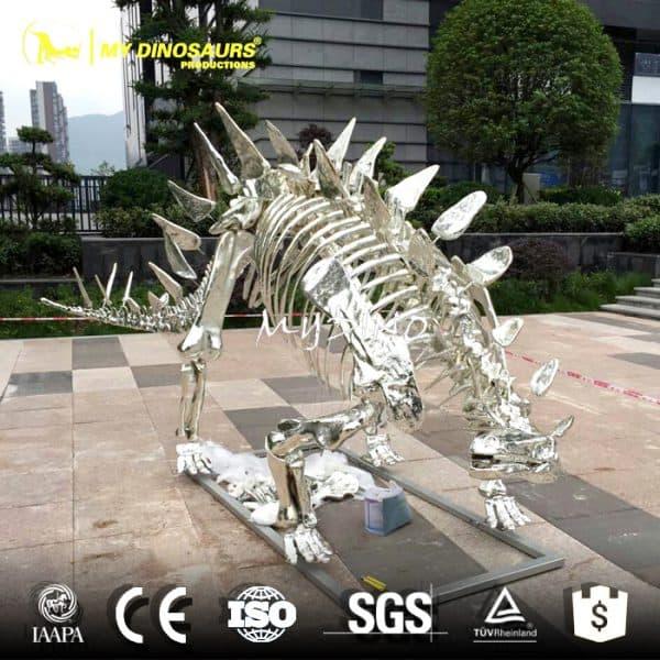 silver skeleton
