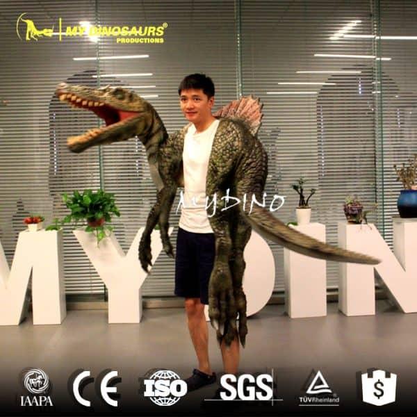 Spinosaurus dino puppet