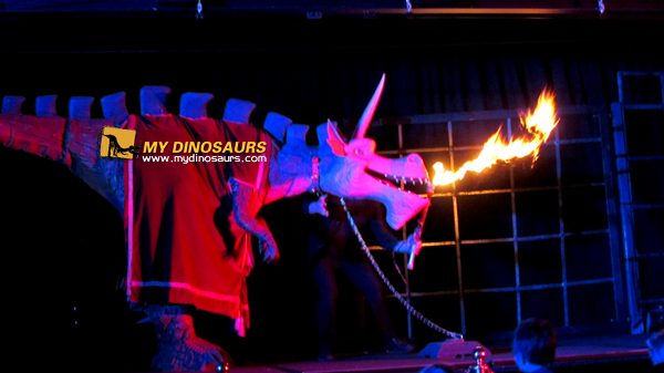 Stage show dragon costume