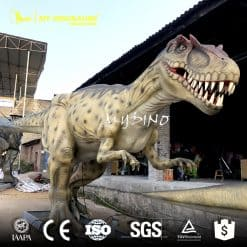 animatronic allosaurus