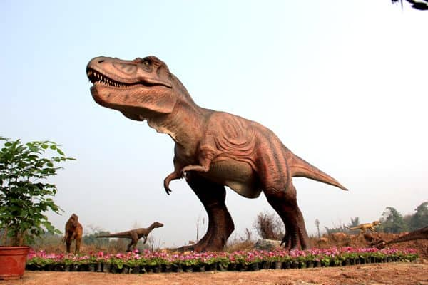 dinosaur exhibition animatronic T REX dinosaur