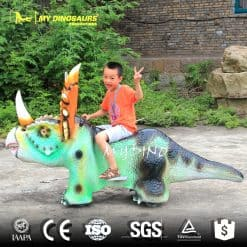 Battery Dinosaur Car 2