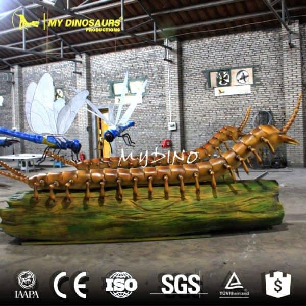 Large millipede model