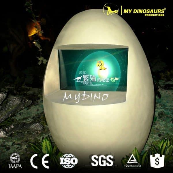 Dinosaur museum equipment dinosaur egg