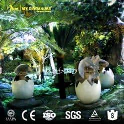 amusement park fiberglass dinosaur egg 1