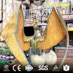 artificial dinosaur statue