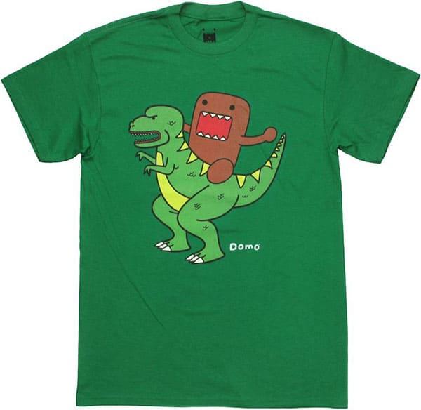 domo kun dinosaur t shirt 4