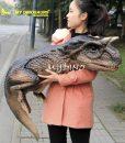 Carnotaurus puppet