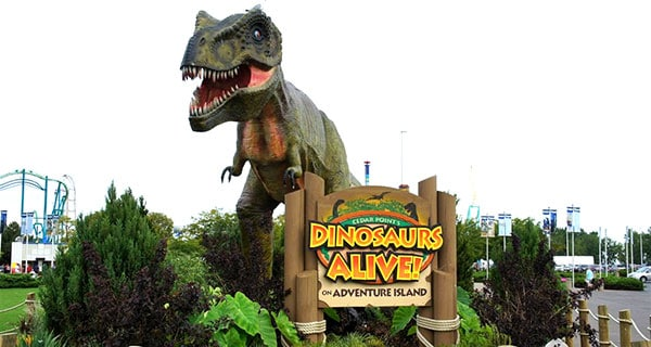 Dinosaurs Alive At King Island