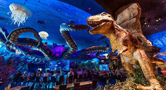 The T Rex Cafe and Restaurant at Disney Springs1