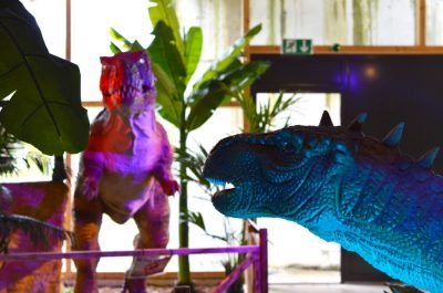 animatronic dinosaurs ad banner 2