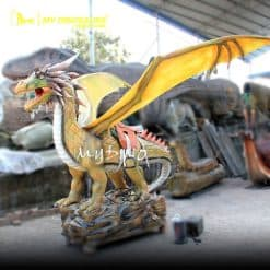 Animatronic Dragon Ride