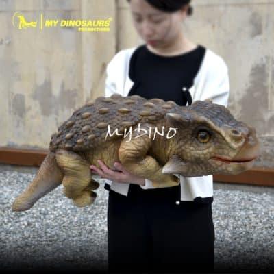 Ankylosaurus puppet 1