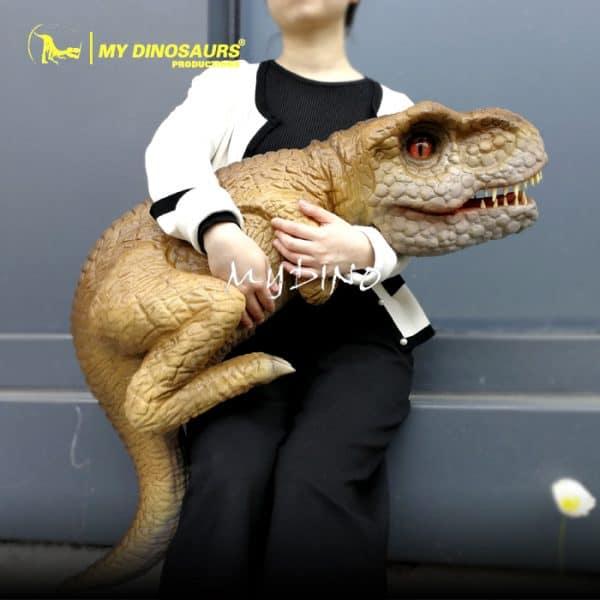 Baby T rex Puppet 1
