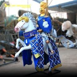 Fiberglass knight statue 2