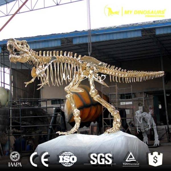 life size dinosaur skeleton