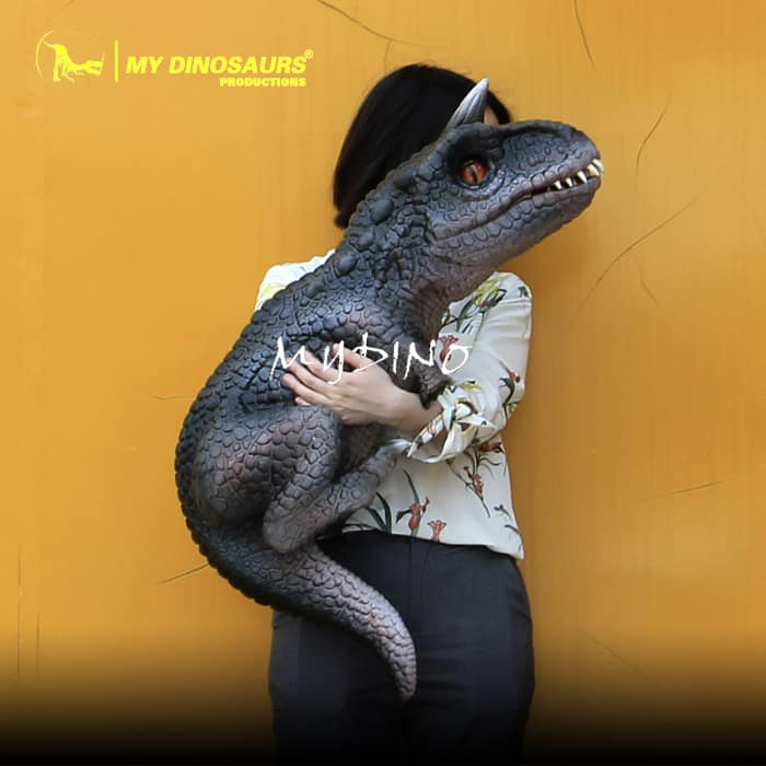 T Rex Car For Sale >> Realistic Baby Carnotaurus Dinosaur Hand Puppet for Sale