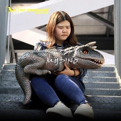 Customized dinosaur puppet (2)