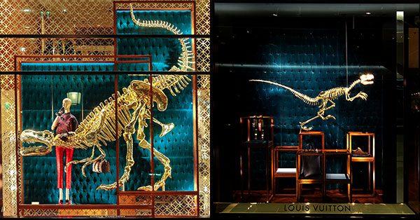 LV natural history museum dinosaur skeleton