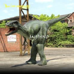 Lightweight dinosaur costume