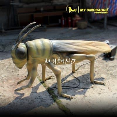 fiberglass giant insect statue 1