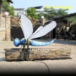 realistic giant dragonfly