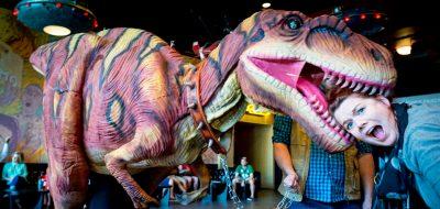dinosaur costume custom