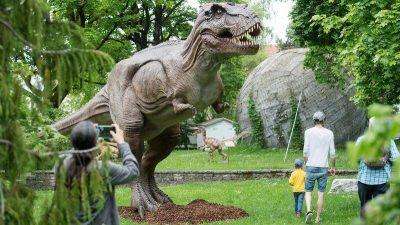 animatronic dinosaurs why us