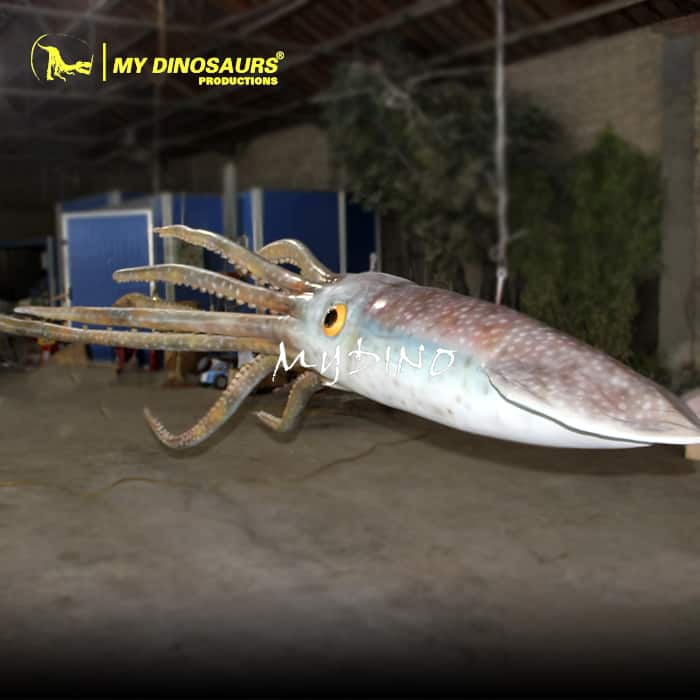 Wall Decoration Giant Squid Statue For Sale