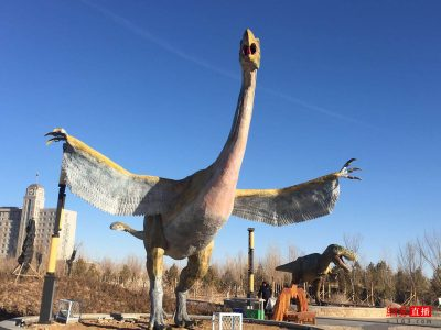 animatronic dinosaurs production 4