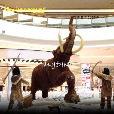 Animatronic Mammoth 1
