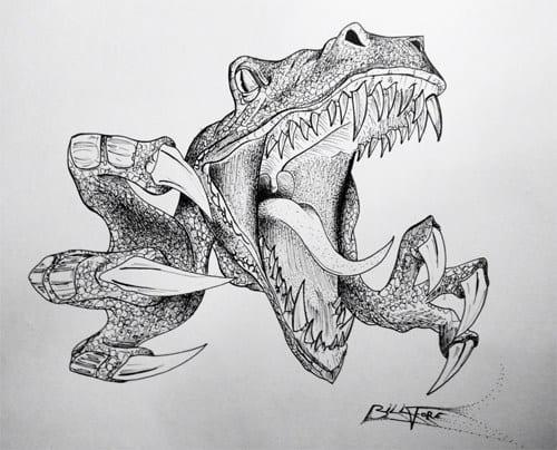 Bill Fore Dinosaur