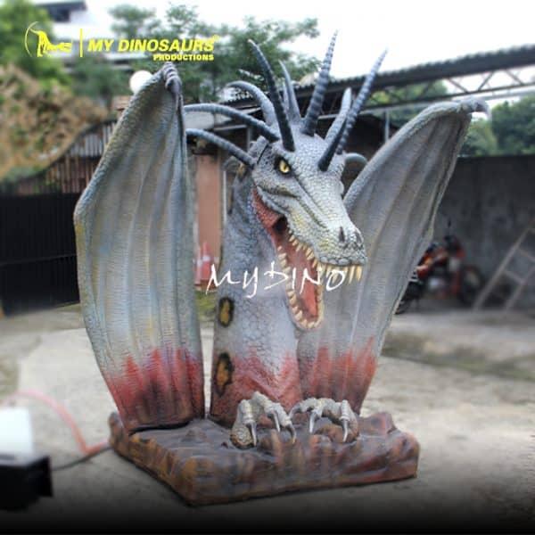 dragon statue 1