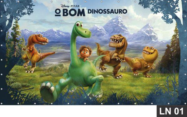 painel o bom dinossauro 1 50x1 00m crianca
