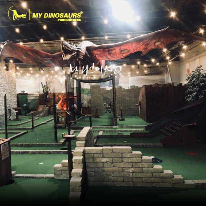 mini golf dragon