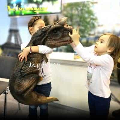 Carnotaurus Hand Puppet 400x400