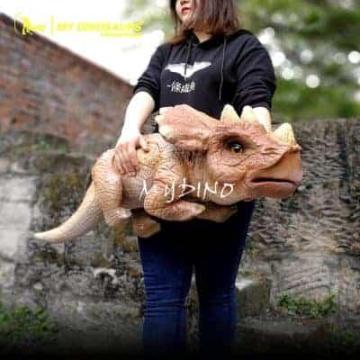 baby dinosaur hand puppet 1 400x400