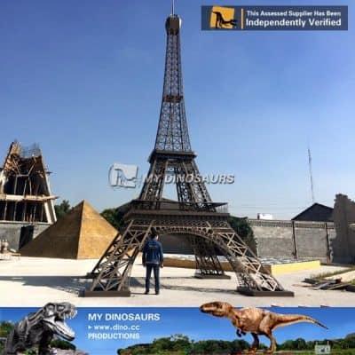 miniature park Eiffel tower Paris 6